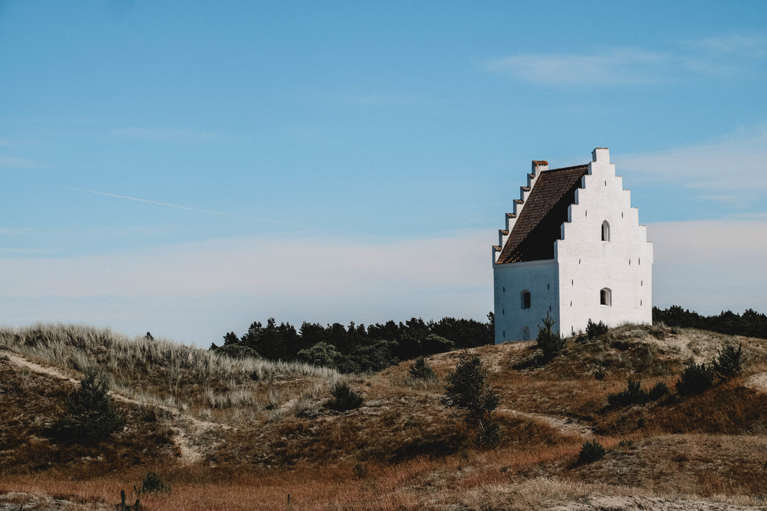 Den Tilsandede Kirke, Denmark - Live Tiny and Travel