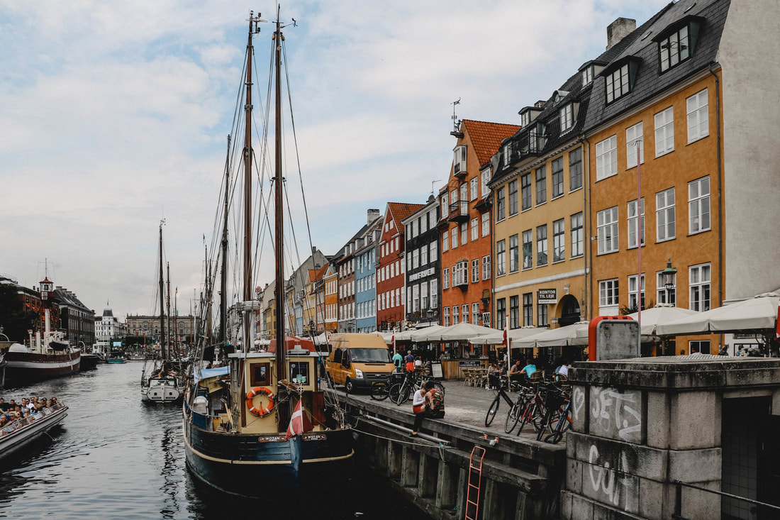 Nyhavn, Copenhagen, Denmark - Live Tiny and Travel