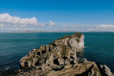 Kinbane Castle - Live Tiny & Travel